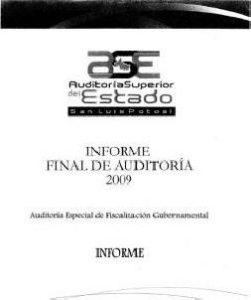 Auditoria2009Ejecutivo